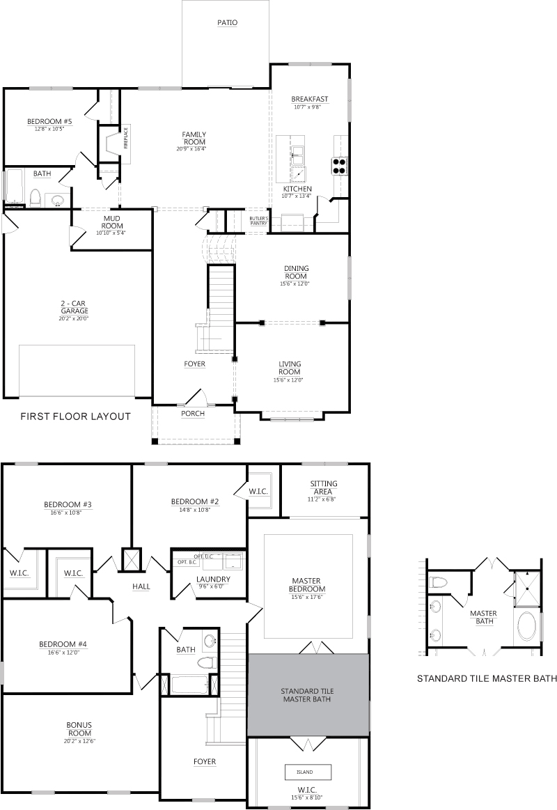 claybourn floor plans homes of integrity construction