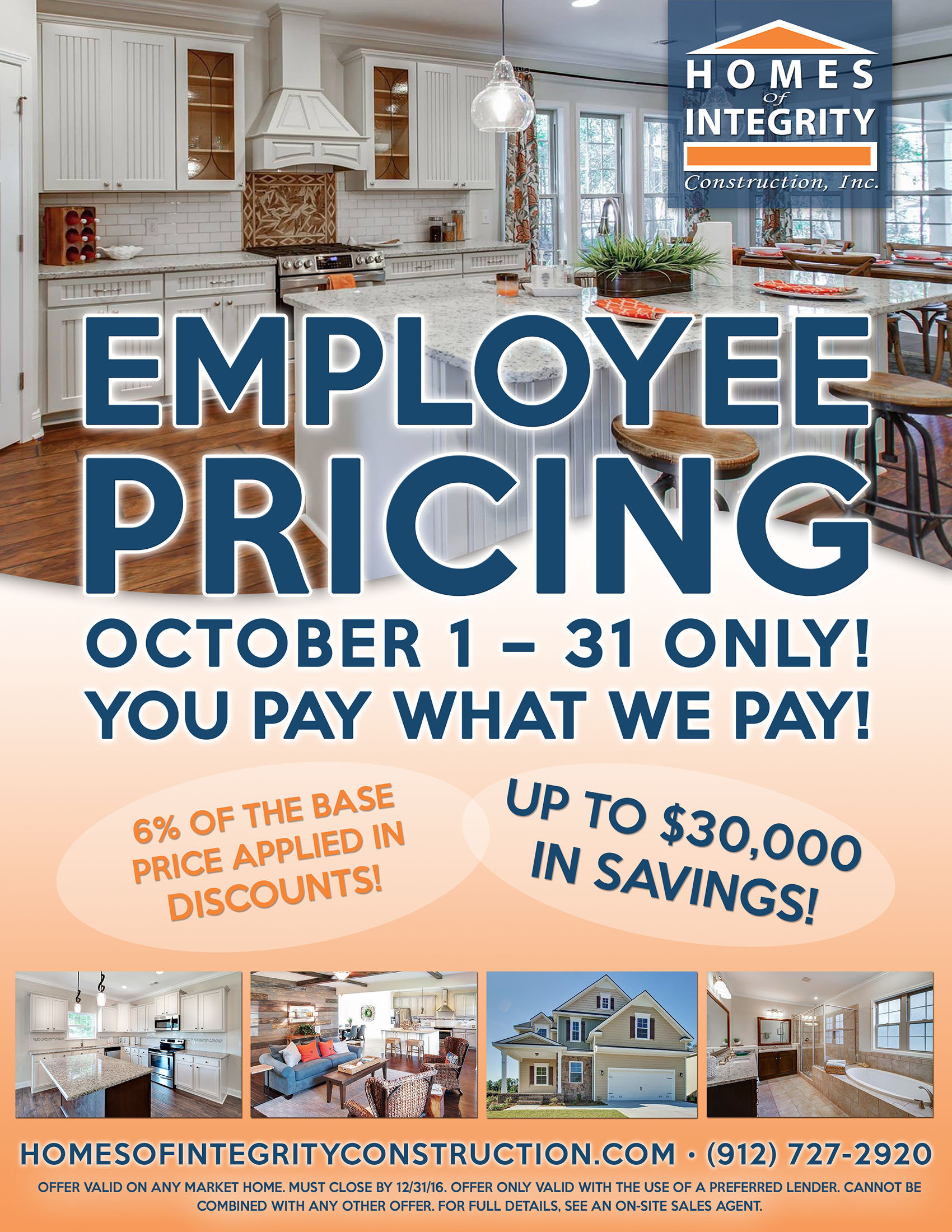 Employee Pricing – You Pay What We Pay!